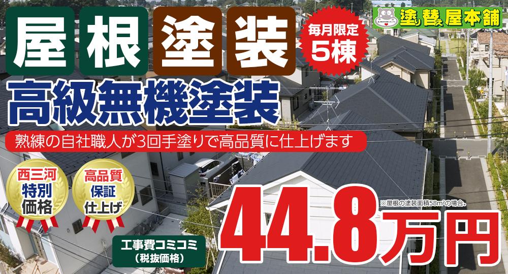 高級無機塗装 44.8万円