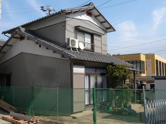 高浜市 I様邸 外壁塗装|安城市、西尾市の塗り替え屋本舗