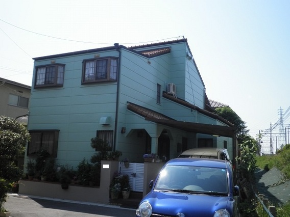 岡崎市 M様邸 外壁塗装 安城市、西尾市の塗り替え屋本舗