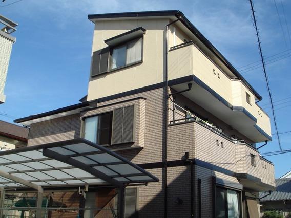 岡崎市 H様邸 外壁・屋根塗装 安城市、西尾市の塗り替え屋本舗