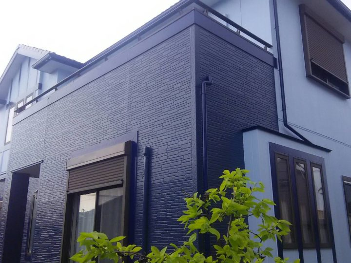 西尾市N様邸 外壁塗装 安城市、西尾市の塗り替え屋本舗
