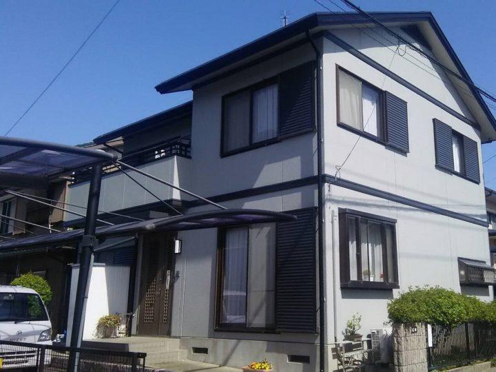 岡崎市H様邸 外壁・屋根塗装|安城市、西尾市の塗り替え屋本舗
