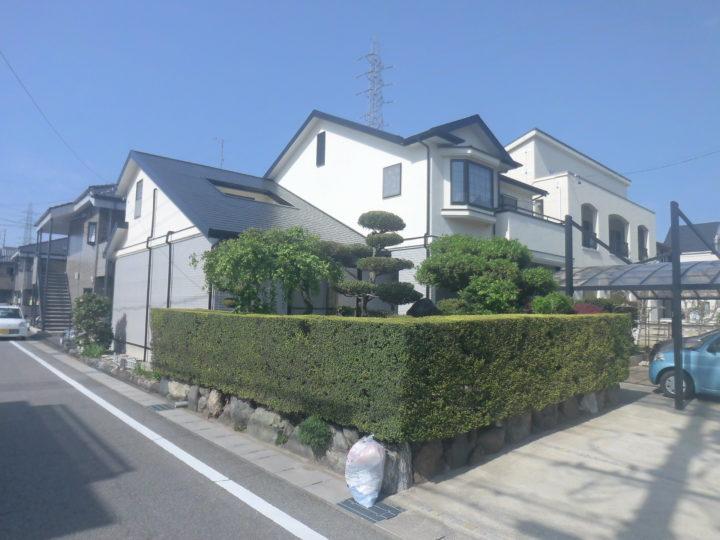 知立市E様邸 屋根、外壁塗装|安城市、西尾市の塗り替え屋本舗