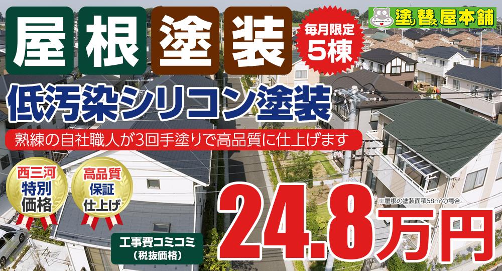 低汚染シリコン塗装 24.8万円