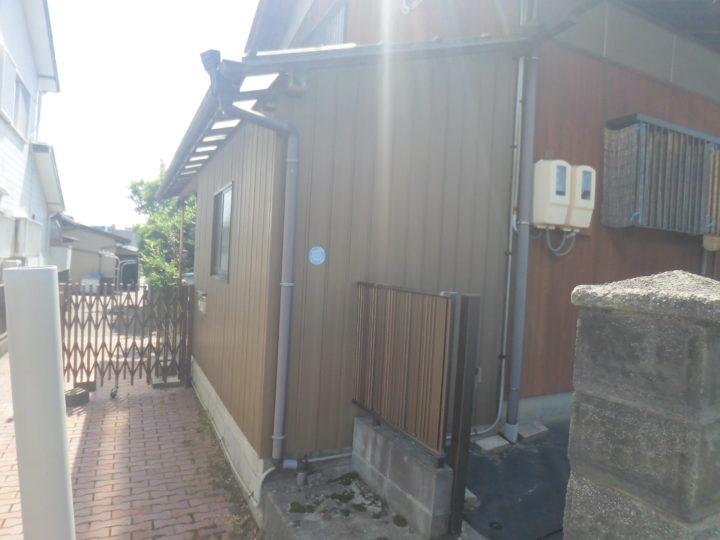 施工前 倉庫