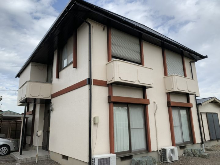 奥様に人気!ベージュ色の外壁塗装 |安城市 M様邸|西尾市の塗り替え屋本舗 364