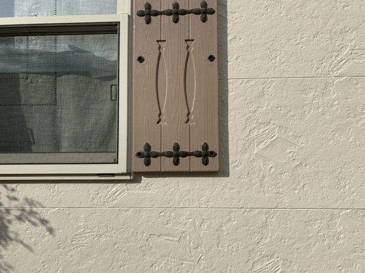 施工後 飾り扉