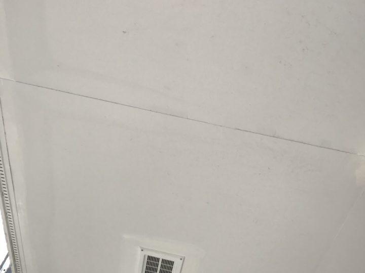塗装前 軒天井