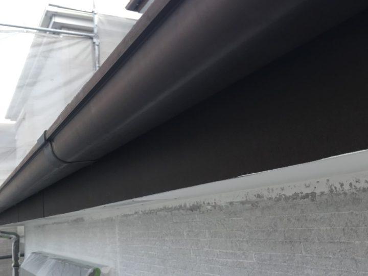 塗装前 雨樋