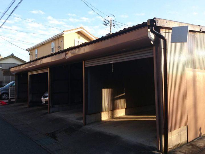 借家・車庫|外壁・屋根塗装|額田郡K町 K様邸|西尾市・安城市の塗り替え屋本舗 381