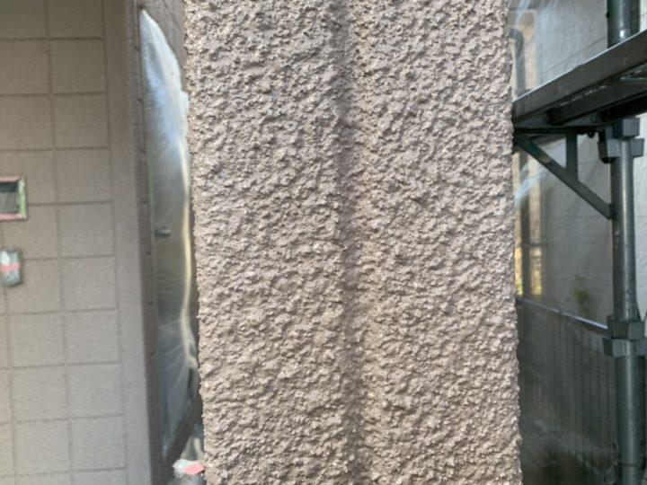 施工中 外壁