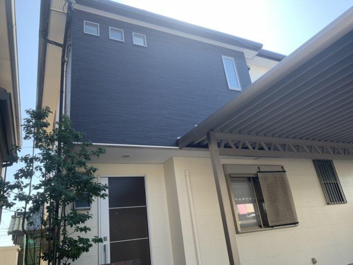 ブラウンとベージュの外壁にワインレッドの屋根がお洒落!! |岡崎市 Y様邸|安城市、西尾市の塗り替え屋本舗 414