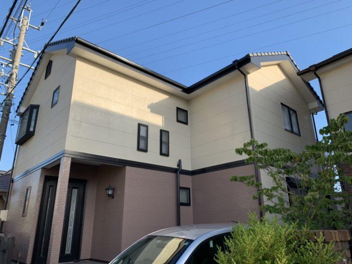 施工前に近い色のツートンカラーで塗り替え! |知立市 O様邸|安城市、西尾市の塗り替え屋本舗 440