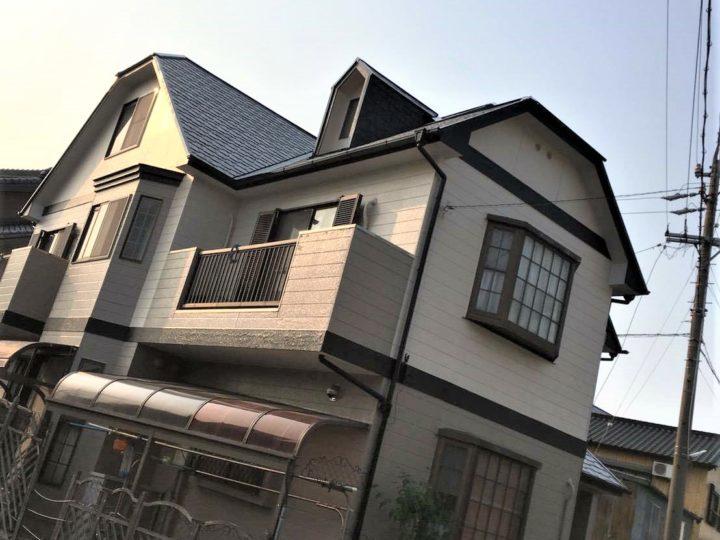 既存色塗装 フッ素塗料 無機塗料|碧南市 S様邸|西尾市・安城市の塗り替え屋本舗 443
