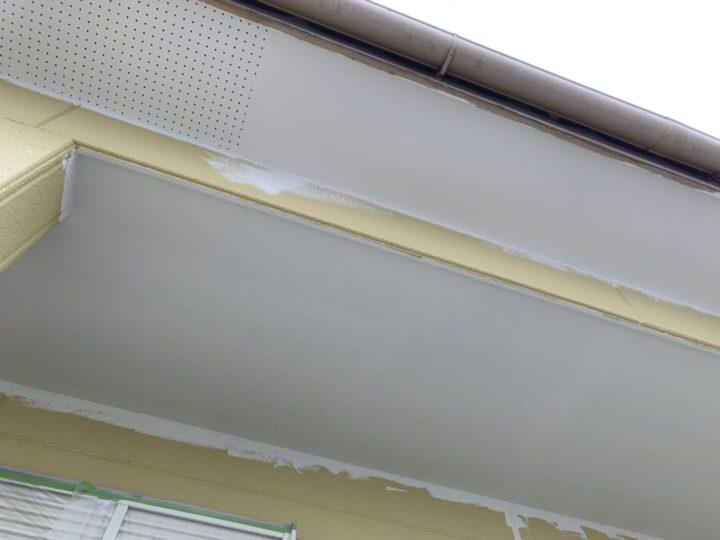 軒天塗装 完成