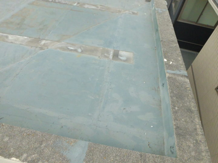 施工前 屋上防水
