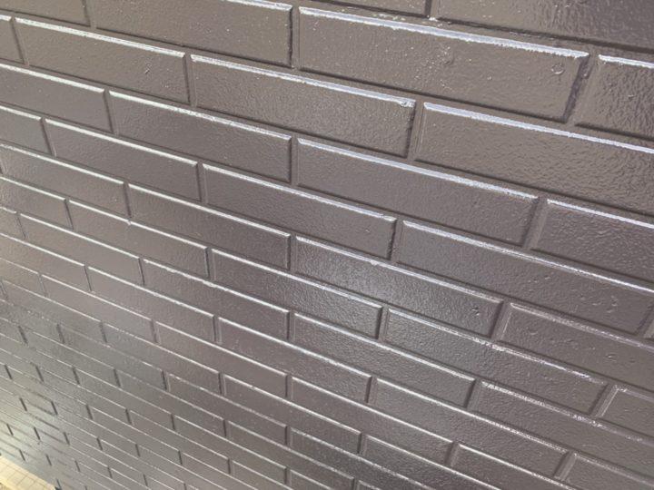 完成 ベランダ外壁