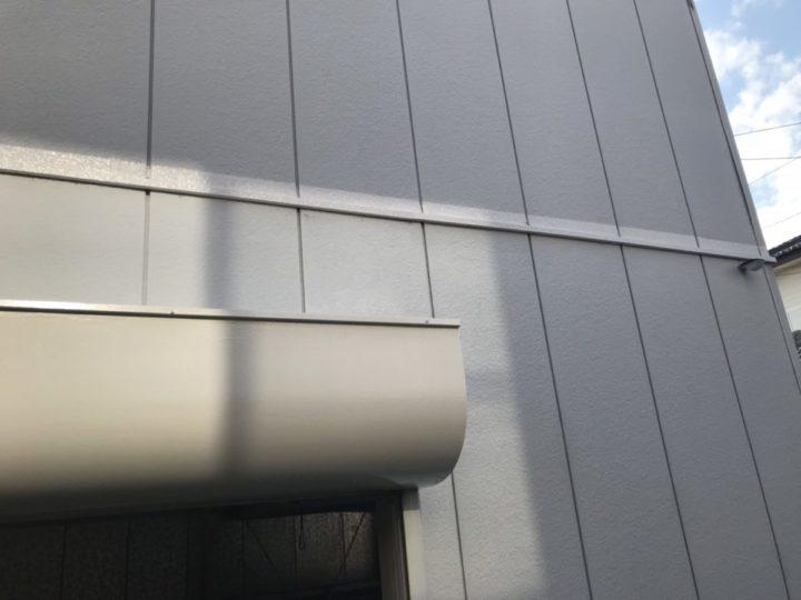 シャッターBOX・水切りモール 完成