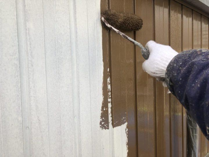 外壁中塗り②