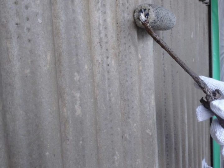 車庫 外壁スレート材