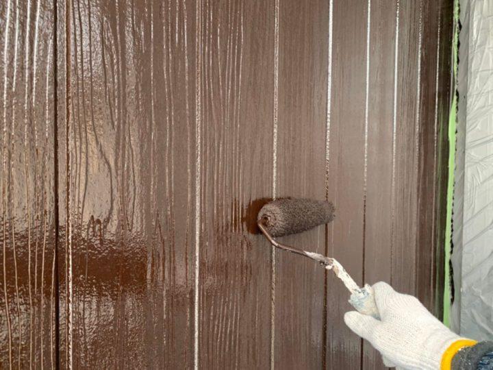 外壁上塗り