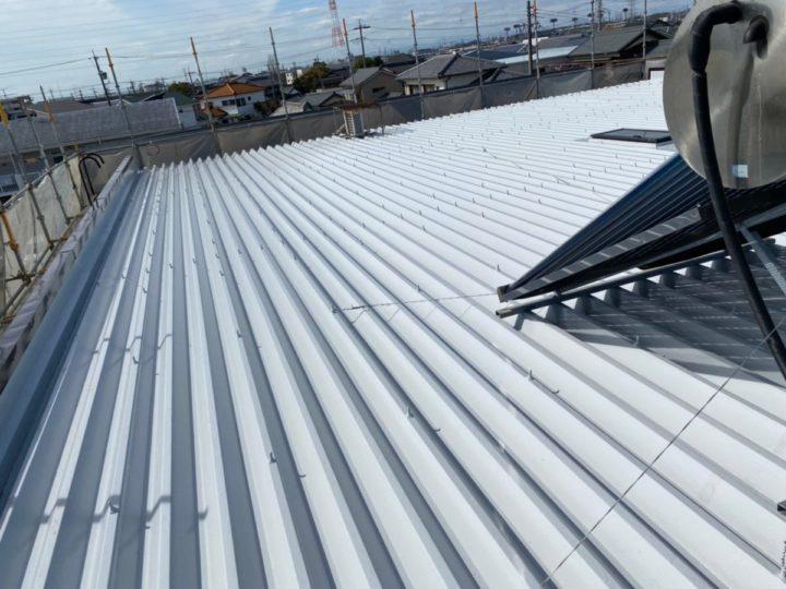 屋根 完成