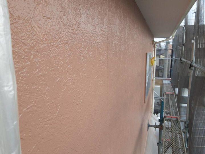 2階 外壁 中塗り完成