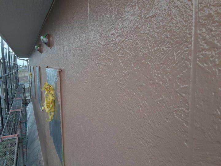 2階 外壁 上塗り完成