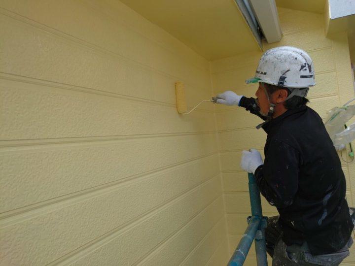 外壁上塗り:2F