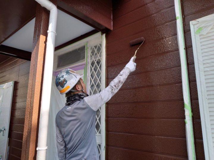 外壁上塗り:1F