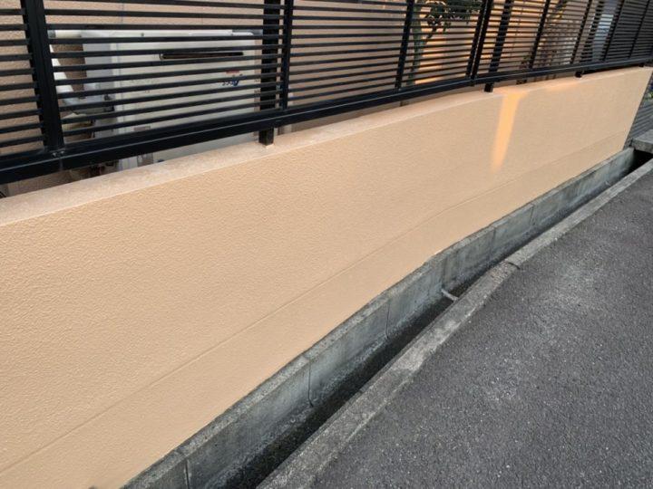 完成 外塀