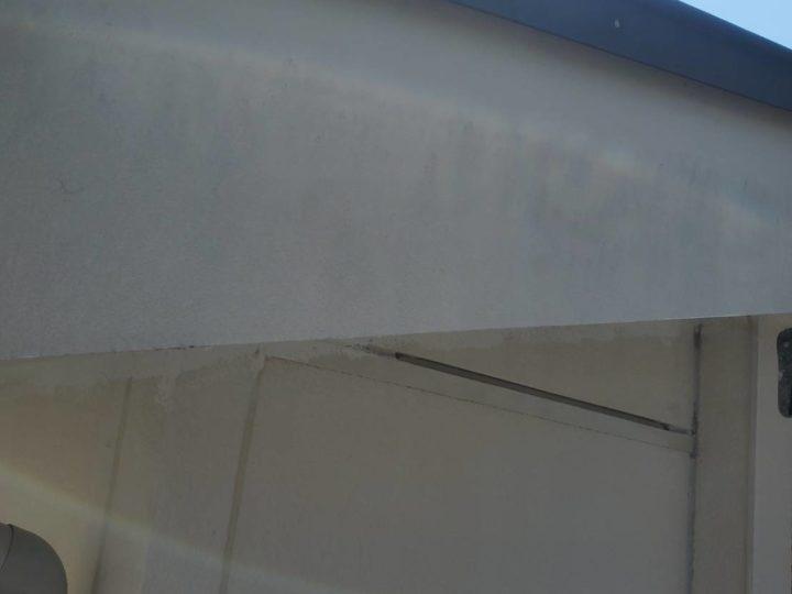 施工前 破風板