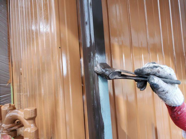 雨樋 施工中