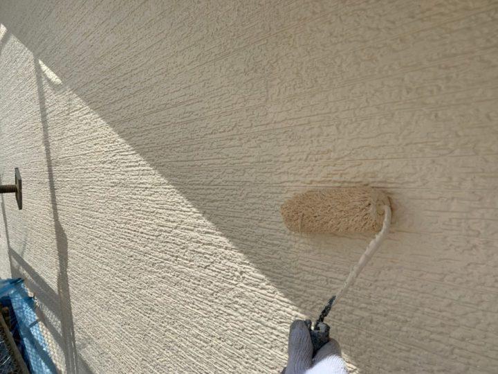 外壁①上塗り