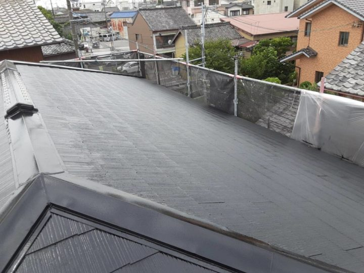 ベランダも屋根も防水と美観はバッチリです❣|愛知県西尾市N様邸|愛知県西尾市・安城市の塗り替え屋本舗 愛知 617 施工データ  完工