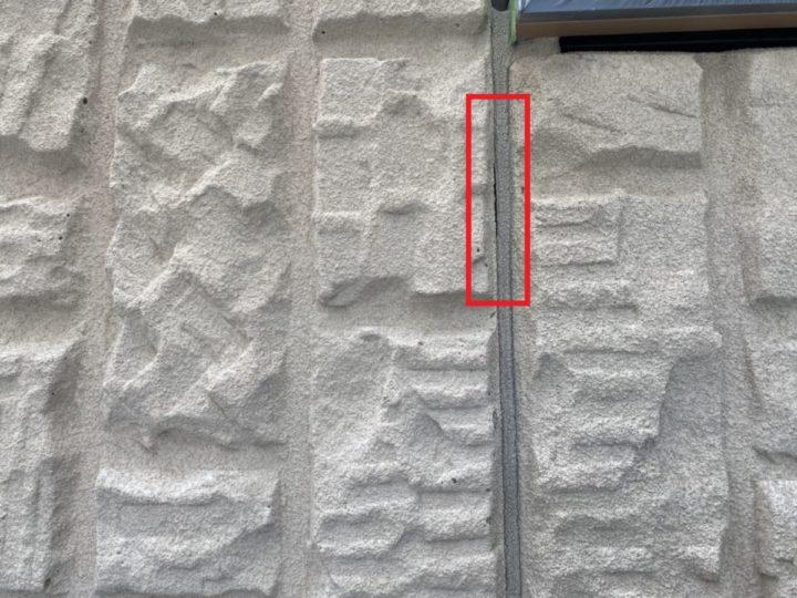 外壁目地シーリング補修 現状