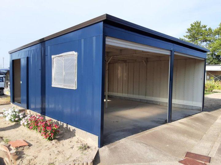 ネイビーの外壁・ダークブラウンの屋根にカラーチェンジ❣|愛知県碧南市I様邸|愛知県西尾市・安城市の塗り替え屋本舗 愛知 627 施工データ  完工