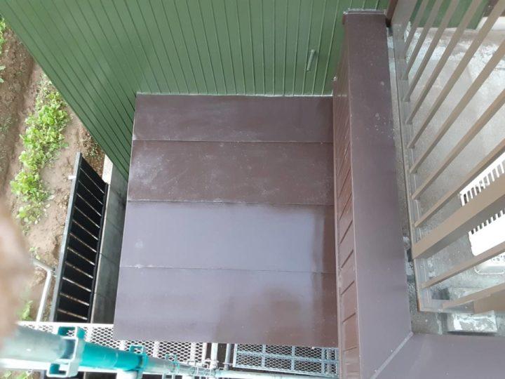板金屋根 完成
