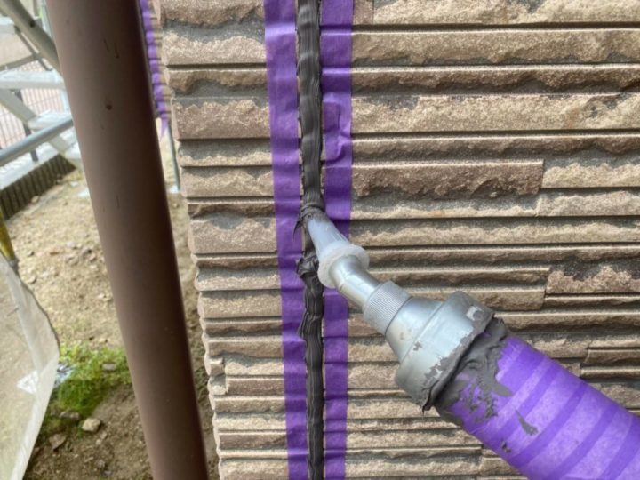 外壁目地シーリング改修④