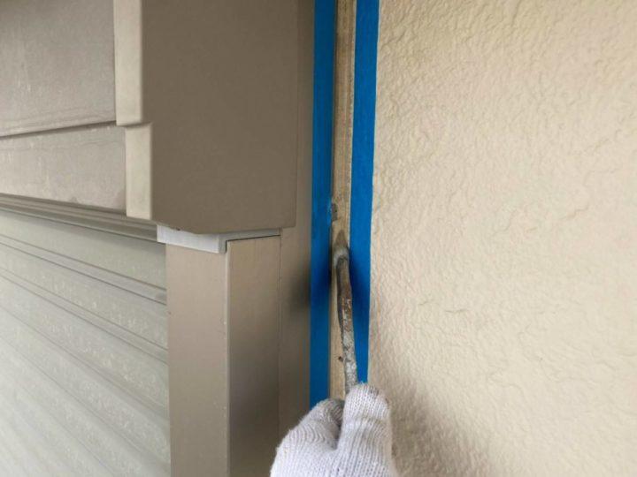 窓廻りシーリング改修①