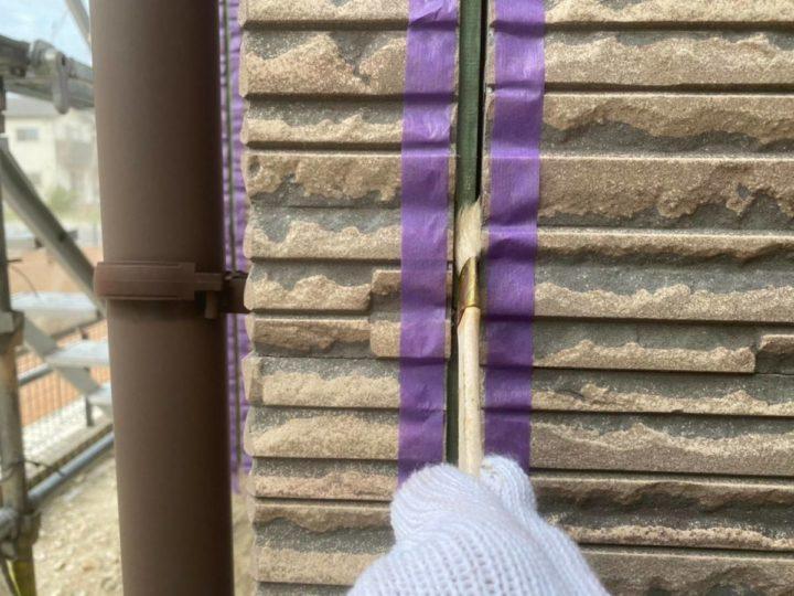 外壁目地シーリング改修③