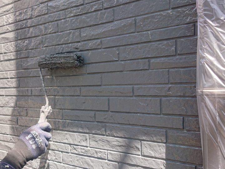 1階外壁 上塗り