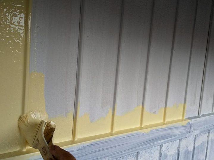 外壁上塗り②