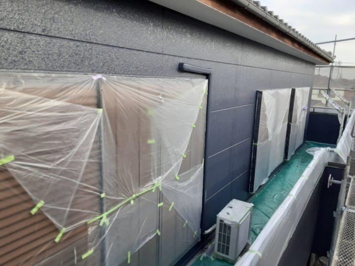 外壁 上塗り完成