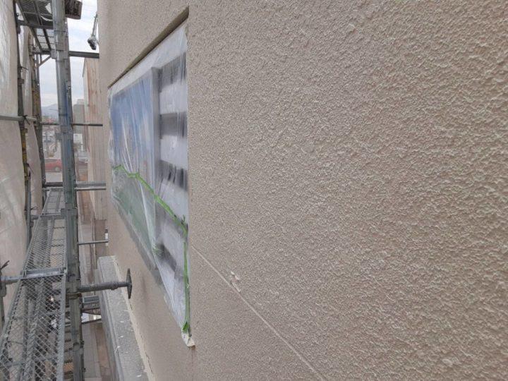外壁塗装 中塗り完成