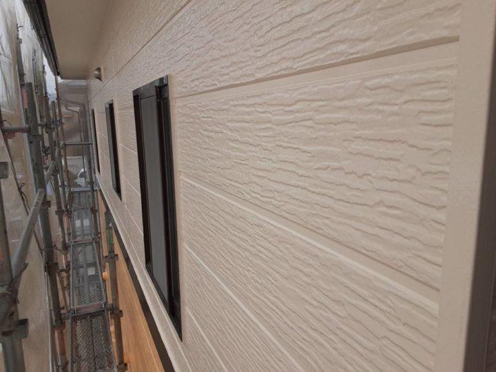外壁塗装 上塗り完成