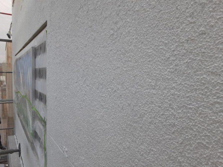 外壁塗装 下塗り完成