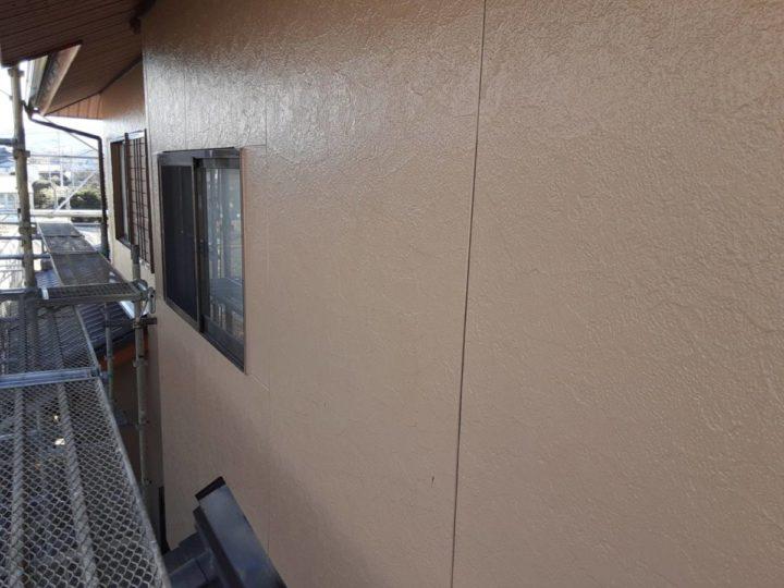 本宅 外壁上塗り