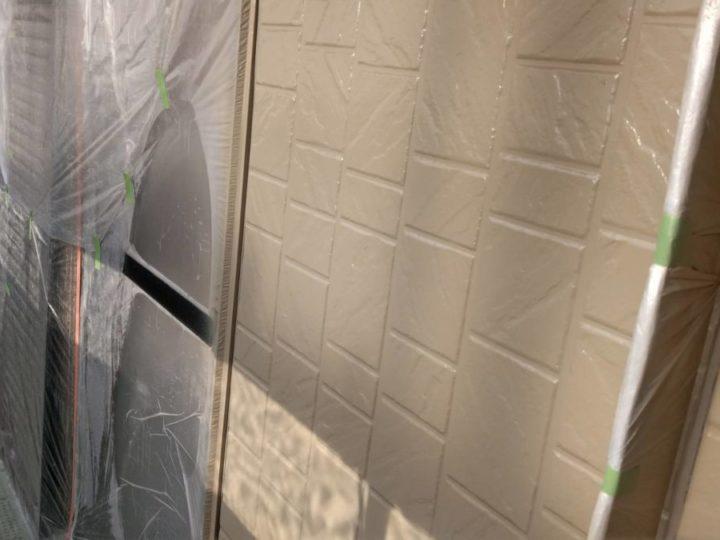 2F外壁 中塗り