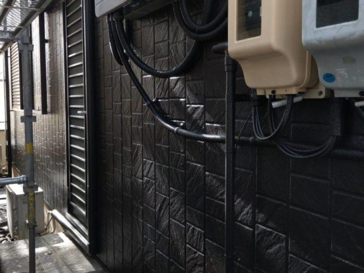 1階外壁 上塗り完成✨